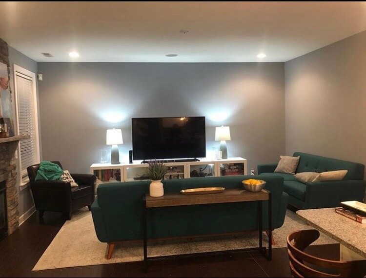 interior living room painting